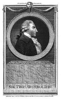 Thomas Rumbold British politician