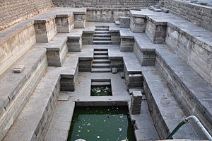 Warangal Urban district - Thousand Pillar Temple pond