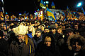 Thousands of people are continuing to express their support to european integration at the Maidan. November 29, 2013.jpg