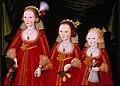Three Young Girls by Follower of William Larkin.jpg