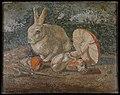 Tile mosaic with rabbit, lizard and mushroom MET DT5098.jpg