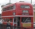 Timebus Travel RML class Routemaster, wedding hire, London Bridge, 5 September 2009 cropped.jpg