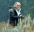 Tipper Gore with camera in snow (cropped1).jpg