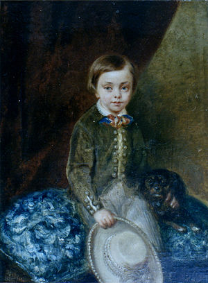 Tirso de Olazábal y Lardizábal - Portrait of Tirso de Olazábal as a child