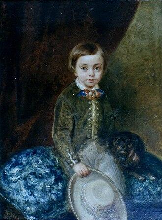 Tirso de Olazábal y Lardizábal - Portrait of Tirso de Olazábal as a child