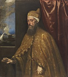 Titian: Portrait of Doge Francesco Venier