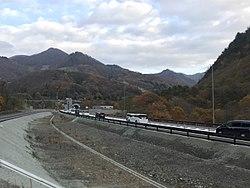 Tohokuchuoexpwy 171105 nearkurikotunnel.jpg