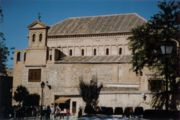 Sinagoga del Tránsito en Toledo.