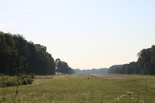 Toledo suburban airport runway