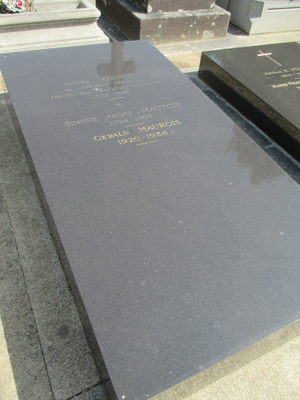 Tombe André Maurois