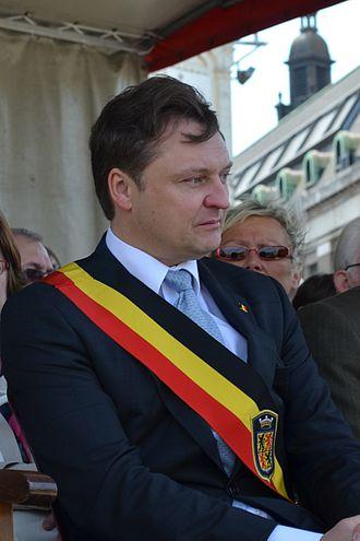 Tommy Leclercq - Image: Tommy Leclercq, gouverneur de la province de Hainaut
