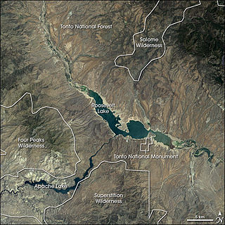 Tonto Basin Drainage basin in Arizona, US
