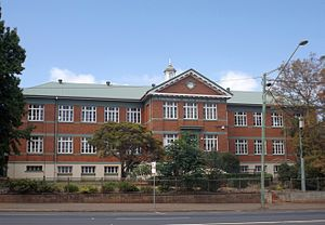 Toowoomba South State School - Building on the corner of Ruthven and James Streets, 2014
