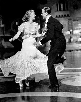 Fred Astaire - Ginger Rogers and Fred Astaire in Top Hat (1935)