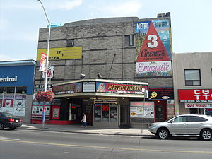Metro Theatre (Toronto) - Metro Theatre in 2011