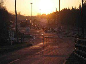 Torr Works - The railhead at Torr Works