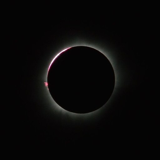 Total Solar Eclipse, 9 March 2016, from Balikpapan, East Kalimantan, Indonesia