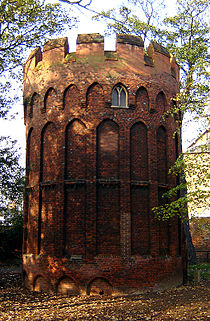 Tottenham,Bruce Castle, Tower.jpg