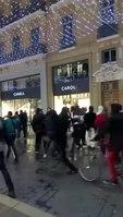 File:Toulouse - des casseurs vandalisent des magasins, à coté des heurts entre gilets jaunes et police.webm