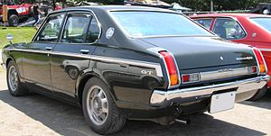 Toyota Carina - Carina 1600GT sedan, showing distinctive taillights