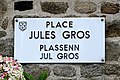 Trédrez-Locquemeau. Plaque Jules Gros.jpg
