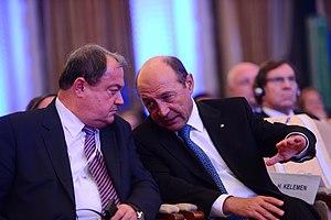 Vasile Blaga - Vasile Blaga and President Traian Băsescu in October 2012