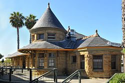 San Carlos Train Station