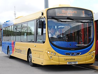 Blackburn Bus Company Transdev owned bus operator