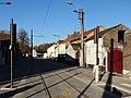 Travaux de la branche vers Vieux-Condé de la ligne B du tramway de Valenciennes en décembre 2013 (255).JPG