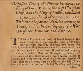 Treaty of Hanover (1725)