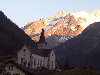 Trient, Switzerland - Church in Trient