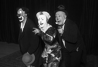 Fratellini family - As clowns, 1932