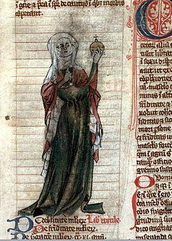 Trotula of Salerno Miscellanea medica XVIII Early 14th Century.jpg