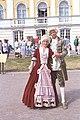 Truechten virum Peterhof, Summerpalais vun den Tsaren.jpg