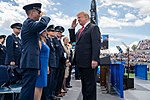 Trump saluting to the AF Academy cadets.jpg