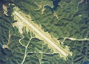 Tsushima Airport - Aerial photo of Tsushima airport