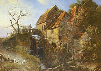 River Teise - Painting by C T Dodd