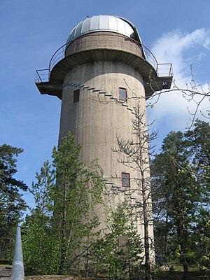 Tuorla Observatory - Image: Tuorla observatory tower