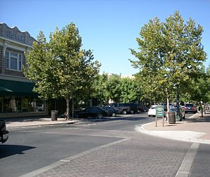 Turlock, California - Main Street in Turlock