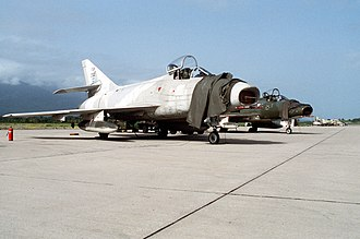 Dassault Super Mystère - Two Super Mystère B.2 aircraft of the Honduran Air Force (1988)