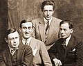 Tzara, Maxy, Vinea, Costin (1915).jpg