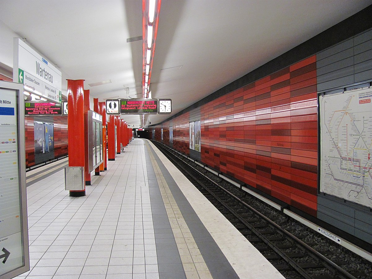 wartenau hamburg u bahn station wikipedia. Black Bedroom Furniture Sets. Home Design Ideas