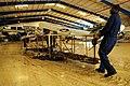 U.S. Navy Aviation Maintenance Administrationman 2nd Class Michael Owen, left, Aviation Structural Mechanic 2nd Class Alan Schneider and Aviation Ordnanceman 1st Class Chris Grady assigned to the amphibious 080921-N-KD705-624.jpg