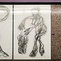 U2 Museumsquartier Kunst Bahnsteig 2 Zeichnung 03 Die Spielende.jpg