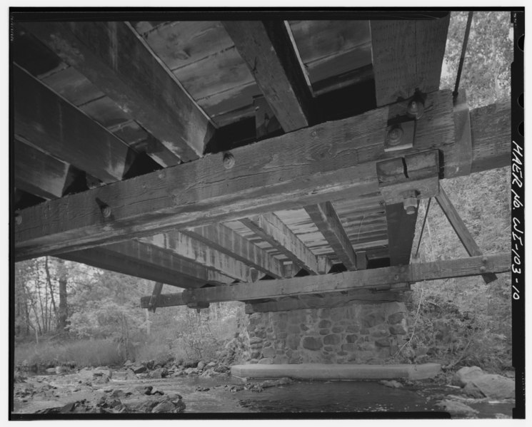 File underside of deck looking west taylor bridge for Balcony underside