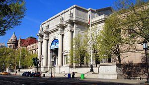 American Museum of Natural History - Looking at the east entrance from Central Park West