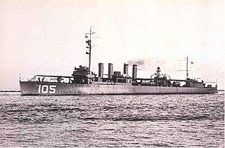 USS <i>Mugford</i> (DD-105)