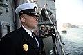 USS Antietam enters post in Busan 131004-N-TG831-310.jpg