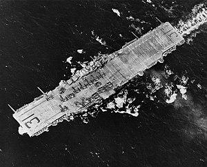 USS Bon Homme Richard (CV-31) aerial view 1945.jpg