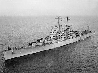 USS <i>Denver</i> (CL-58) Cleveland-class light cruiser